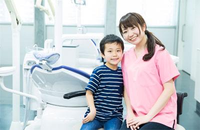 歯科医師と患者